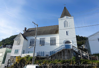 Ketchikan,  克奇坎, 凱奇坎, first Lutheran Church