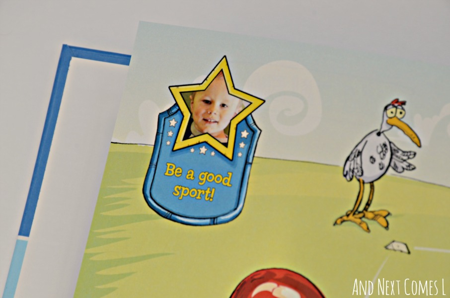 Inside the new I'm an All Star personalized storybook from I See Me {review & giveaway} from And Next Comes L