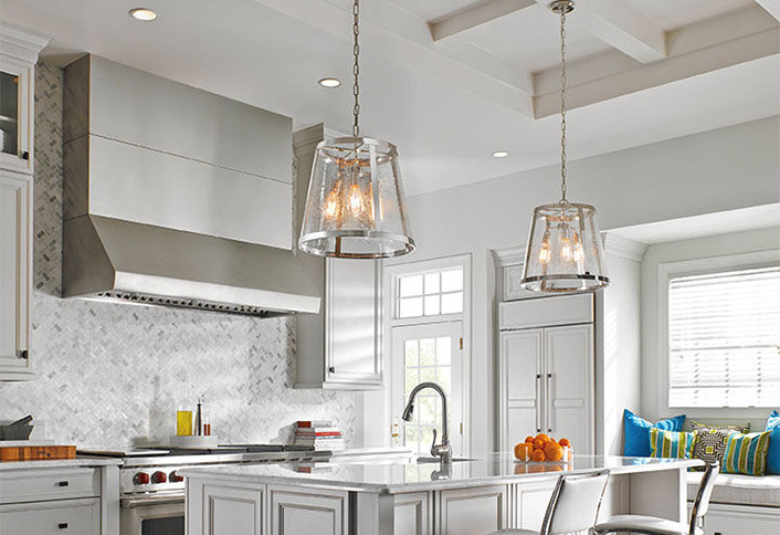 Come illuminare una cucina buia u decorazione