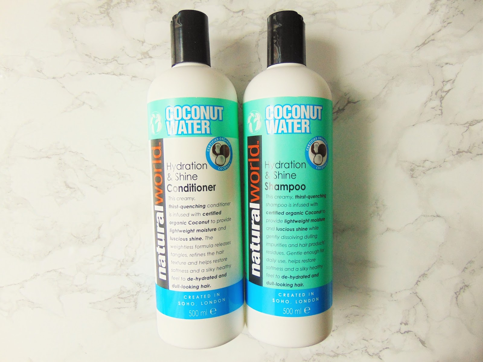Natural Water Coconut Water Shampoo