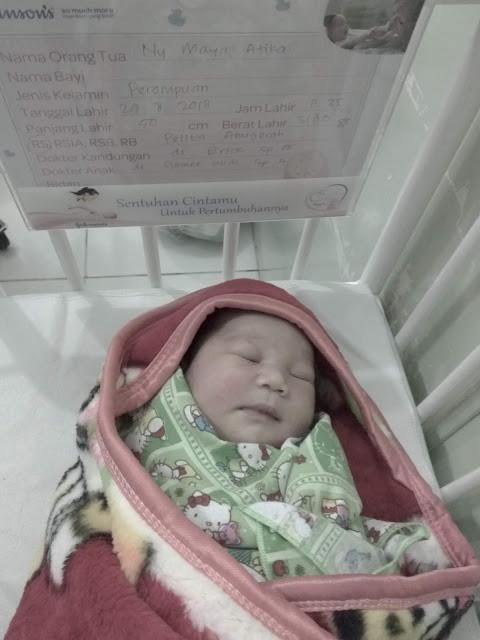 Kelahiran Anak Pertama - Baby Queen Hannah Kaya Inayah - Baby Girl