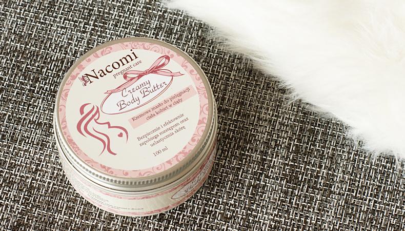 nacomi kremowe masło do ciała dla kobiet w ciąży