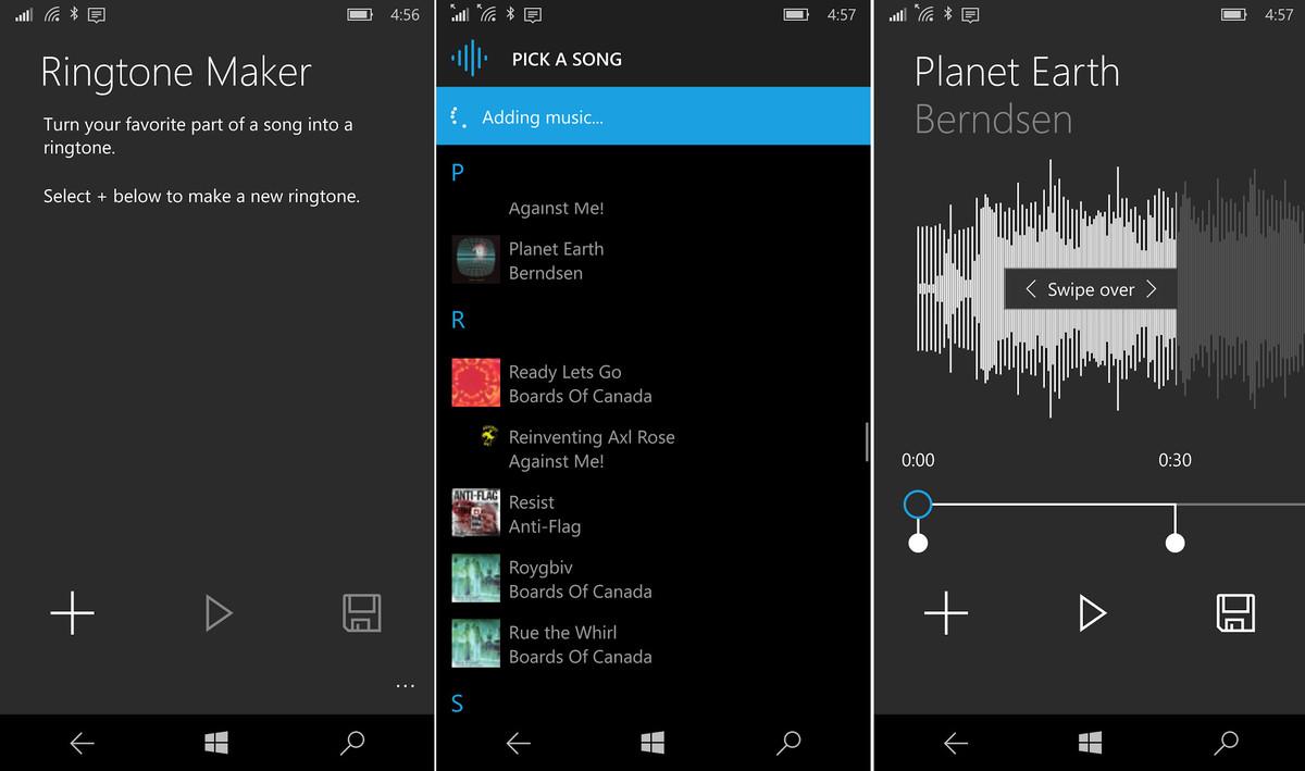 Creazione Suoneria per Windows 10 Mobile | App ufficiale disponibile HTNovo 2