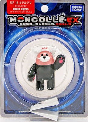 Bewear figure Takara Tomy Monster Collection MONCOLLE EX ESP series