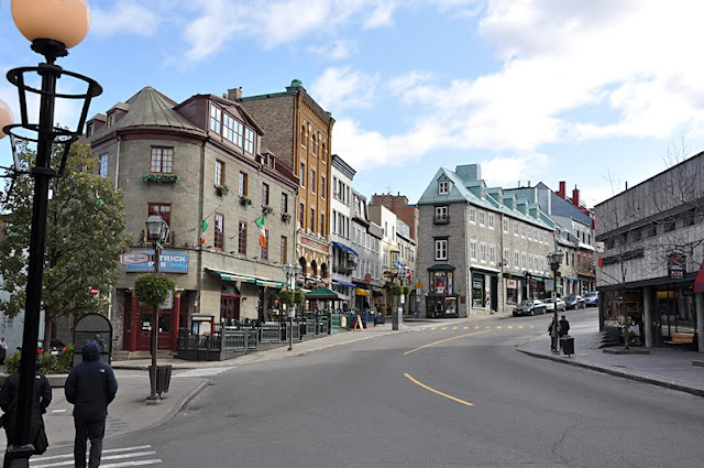 Rue St-Jean em Quebec City