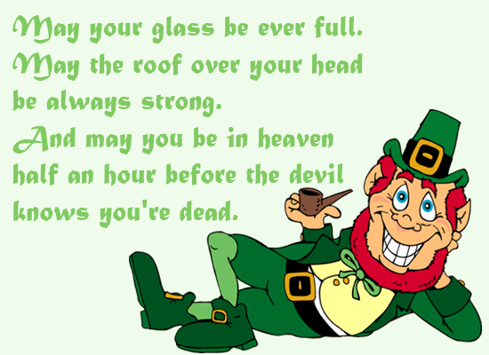 St Patrick's  Facebook and Whatsapp Status and Wishes