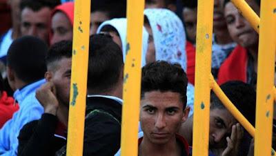 inmigrantes, inmigración, invasión, odio, fuera, stop inmigración