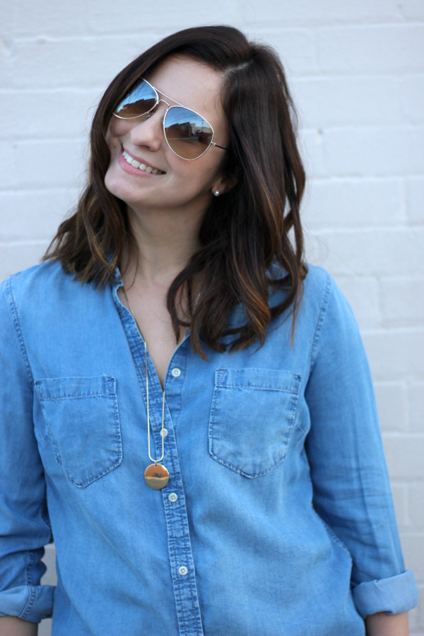 denim on denim, style on a budget, north carolina blogger, mom style, how to wear denim together