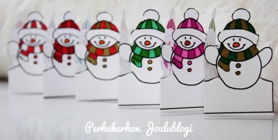 Kuva: Tulostettava värityskuva lapsille jouluksi