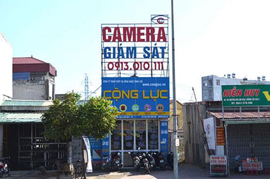 Trụ sở văn phòng của Camera Cộng Lực.