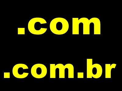 .com  e o .com.br