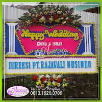 Toko Bunga Papan Happy Wedding BPWD-005