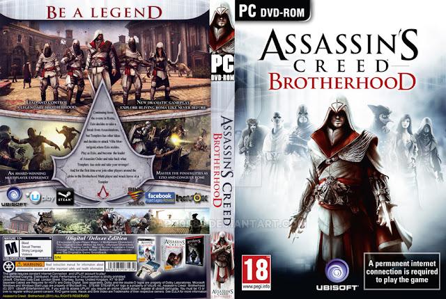 تحميل لعبة Assassin's Creed Brotherhood برابط واحد مباشر