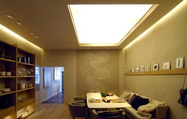 Arquitectura dise o interior luz difusa - Luces de ambiente ...