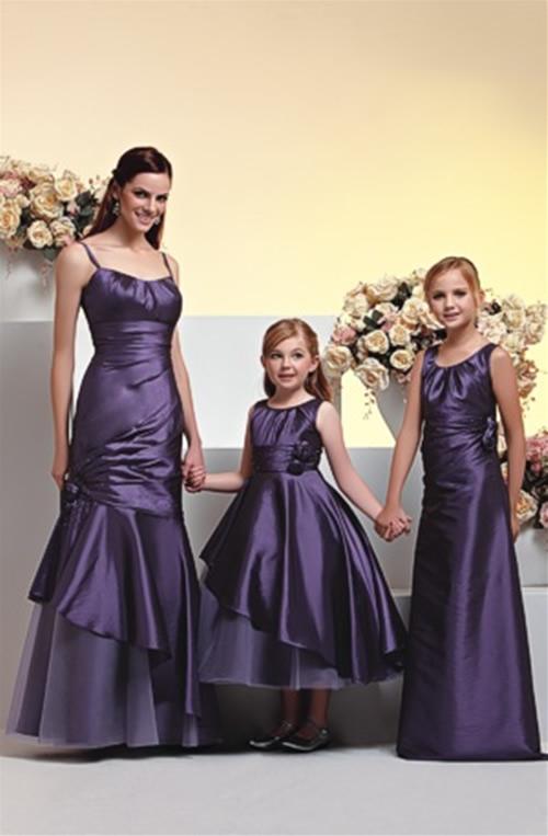 WhiteAzalea Junior Dresses: Purple Junior Bridesmaid ...
