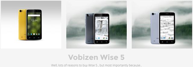 Vobizen Wise 5 Smartphone