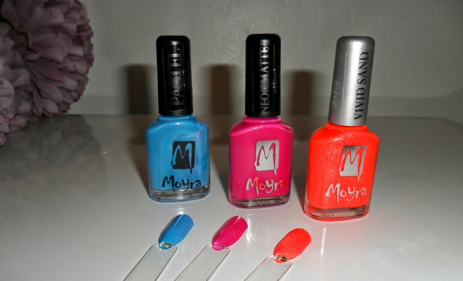 Moyra Nail Polishes, Pastel Nail Polishes, Nail Polishes, Vivid Sand, Neon Matt Nail Polish