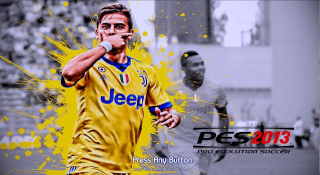 PES 2013 Start Screen Paulo Dybala (Juventus)