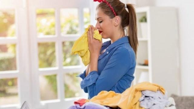 μυρίζουν όμορφα τα ρούχα