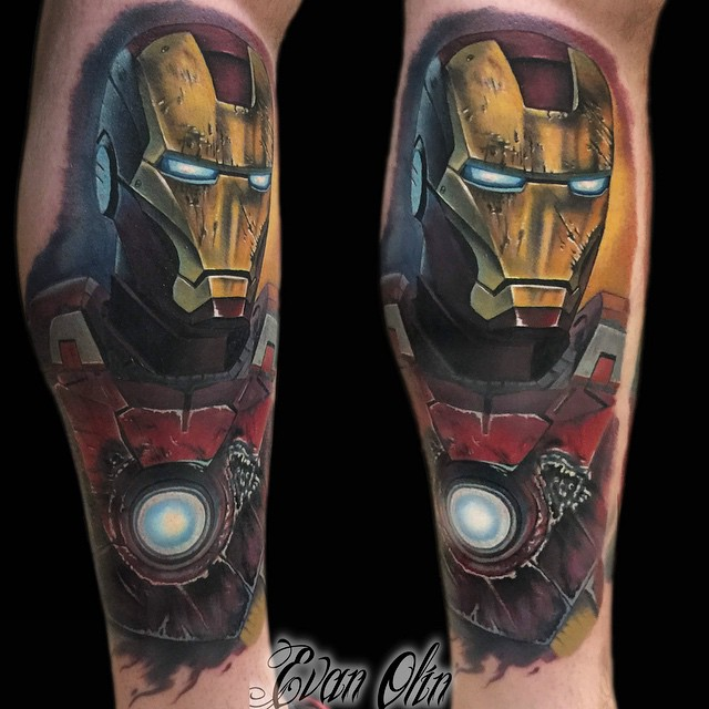 Iron Man arm tattoo ~ Tattoo Geek - Ideas for best tattoos