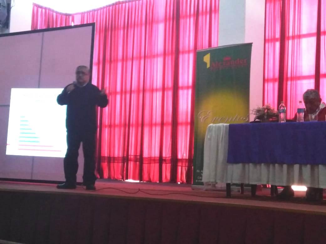 Alvarado expuso datos sobre la economía nacional y el desglose de El Alto / RRSS