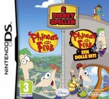 Phineas and Ferb: 2 Disney Games, NDS, Español, Mega, Mediafire