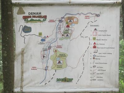 ini adalah rute peta curug panjang