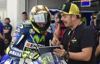 Rossi Pensiun dari MotoGP Jika Sudah Lambat