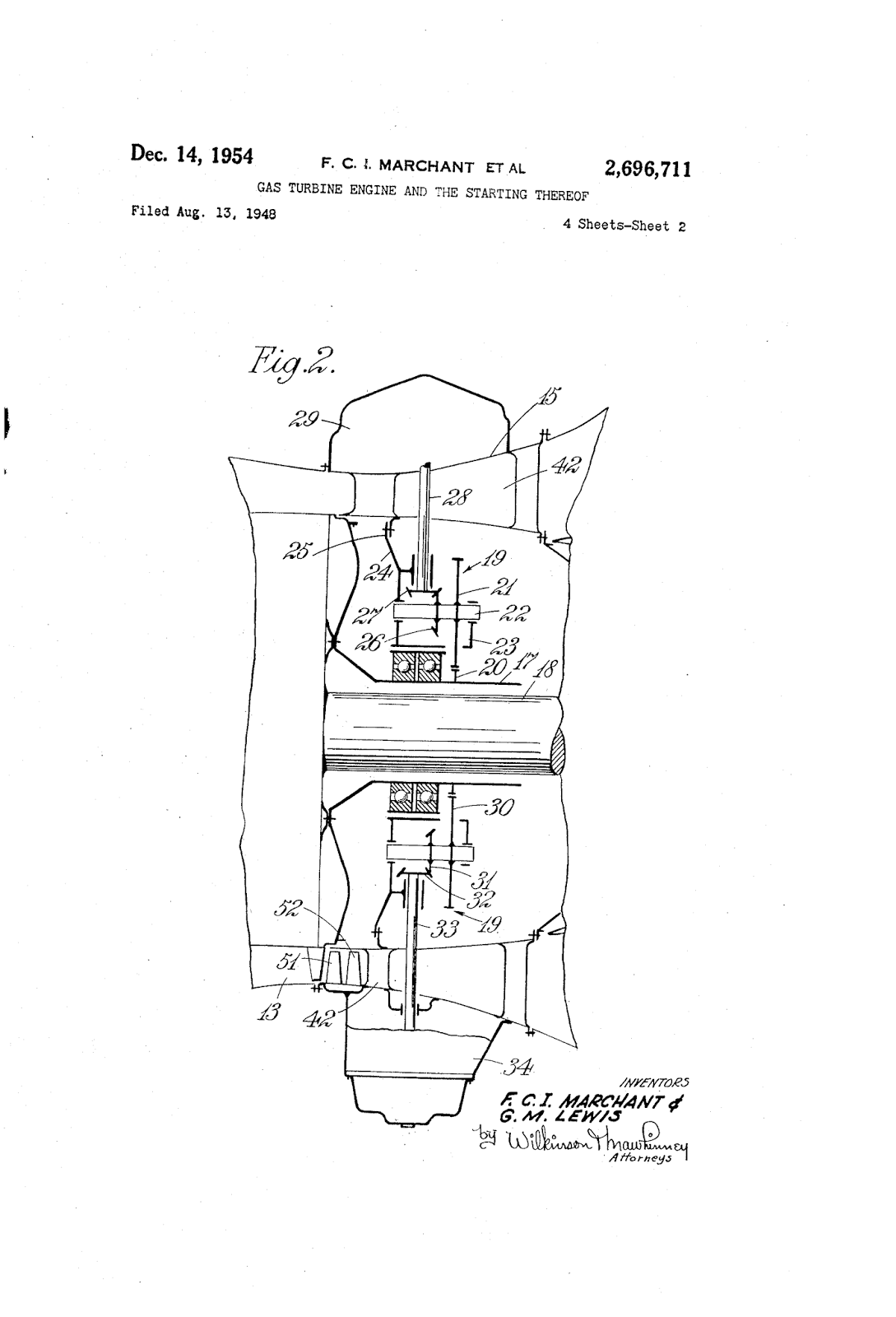 Gas Turbine Engine And The Starting Thereof