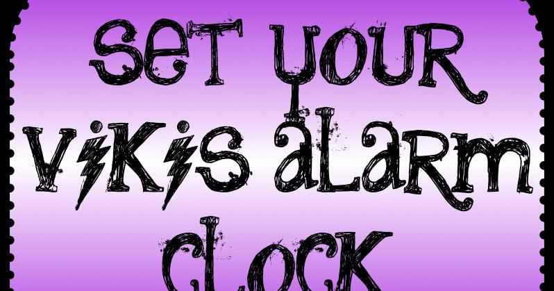 Vikis Alarm Clock Instructions / Manual: Vikis Alarm Clock