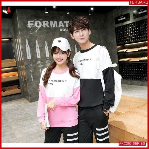 AKC283S123 Sweater Couple Remember Anak 283S123 Pasangan BMGShop