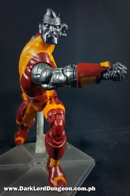 Marvel Legends Colossus running punch