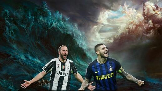 Higuain-Icardi, Juventus-Inter