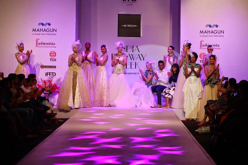Megha & Jiga Gen next show at India runway week 2015, gennext at IRW15, india runway week 2015