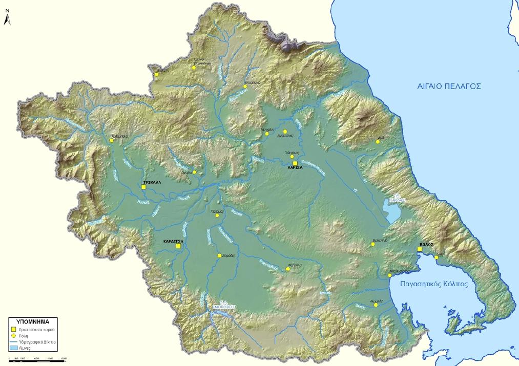 Ημερίδα με θέμα τα σχέδια διαχείρισης κινδύνων πλημμύρας στη Θεσσαλία διοργανώνεται στη Λάρισα (ΠΡΟΓΡΑΜΜΑ)