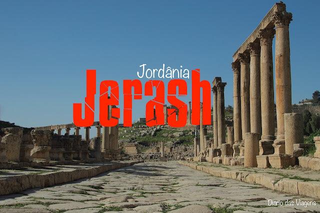 O que visitar em Jerash, Jordânia