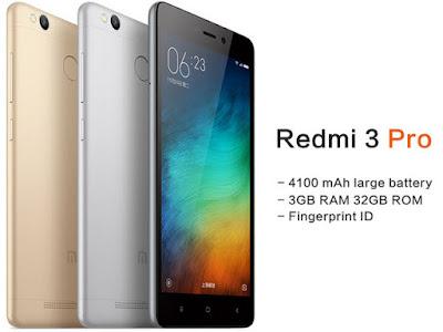 Harga dan Spesifikasi Redmi 3 Pro Terbaru dan Terlengkap