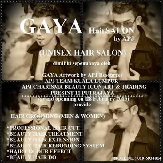 Gaya Hair Salon - Unisex Hair Salon ~ Urut SPA Gaya MenSPA