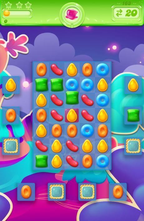 Candy Crush Jelly Saga 163
