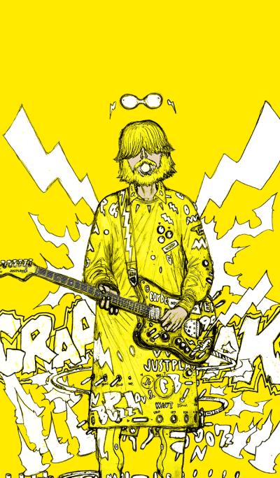FASHION SNAP STREET ROCK STAR GUITAR