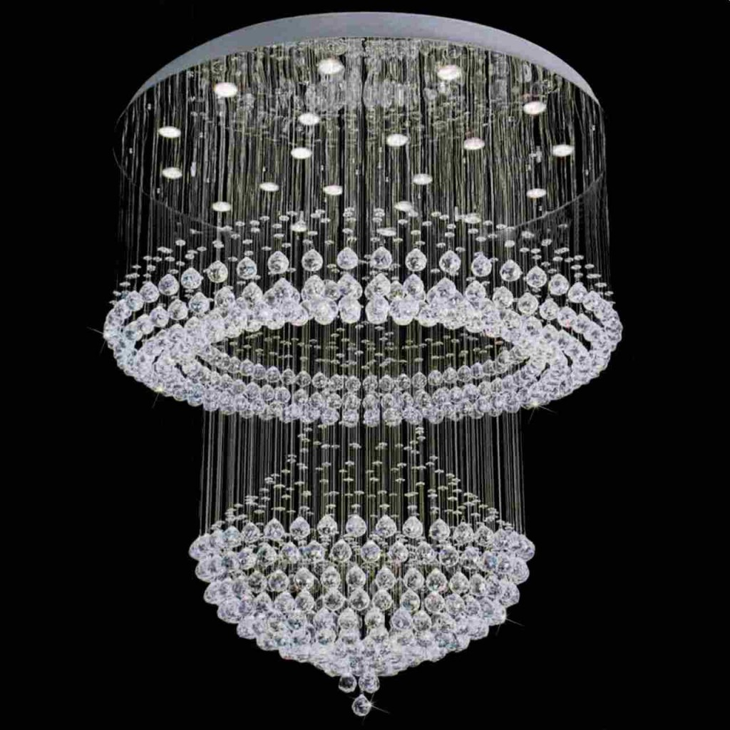 Modern Crystal Chandeliers For Dining Room Luxurious Crystal Chandelier In Modern Style To Decorate Any Rooms