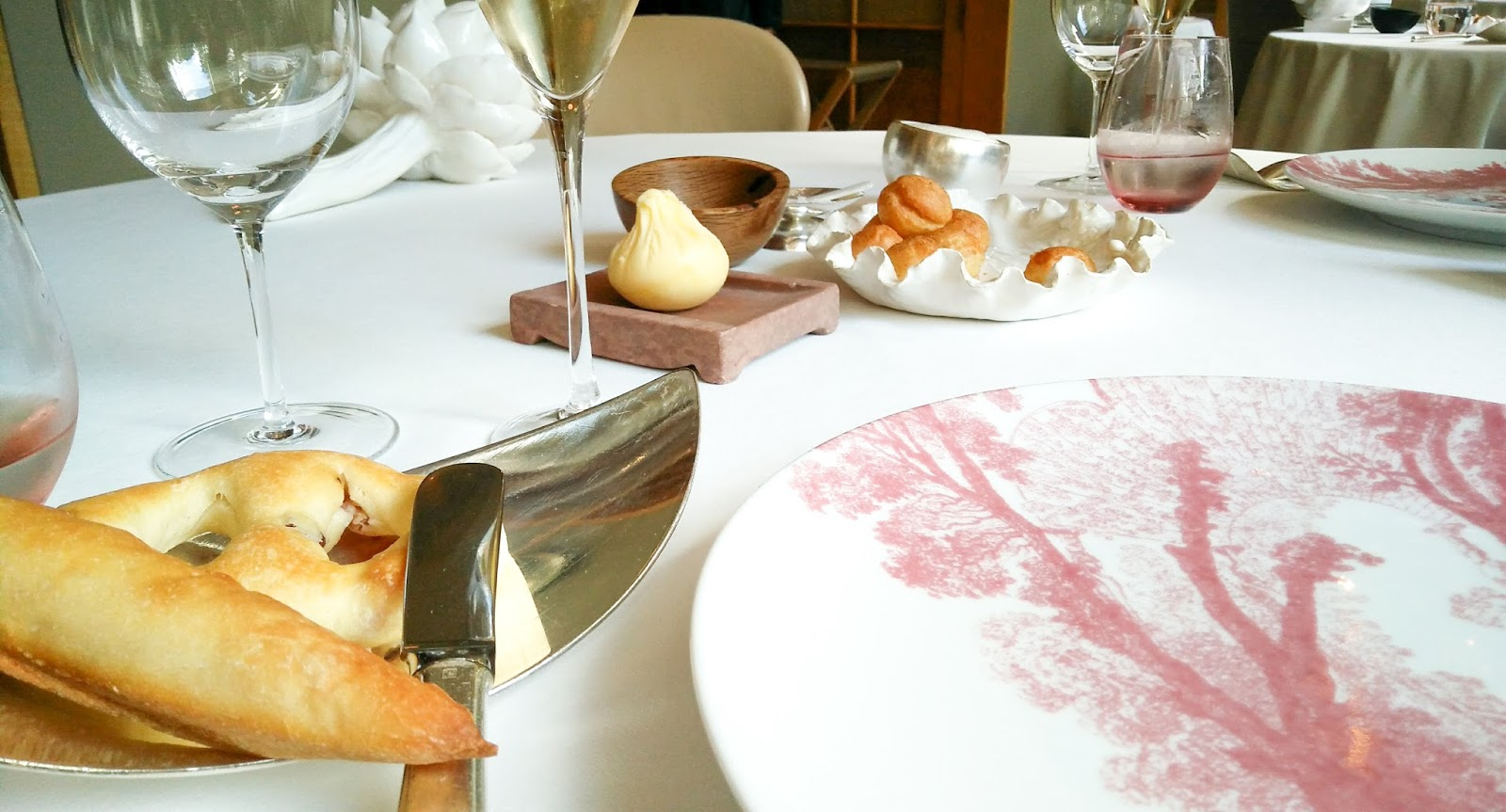 3 Michelin starred lunch at restaurant Alain Ducasse, The Dorchester