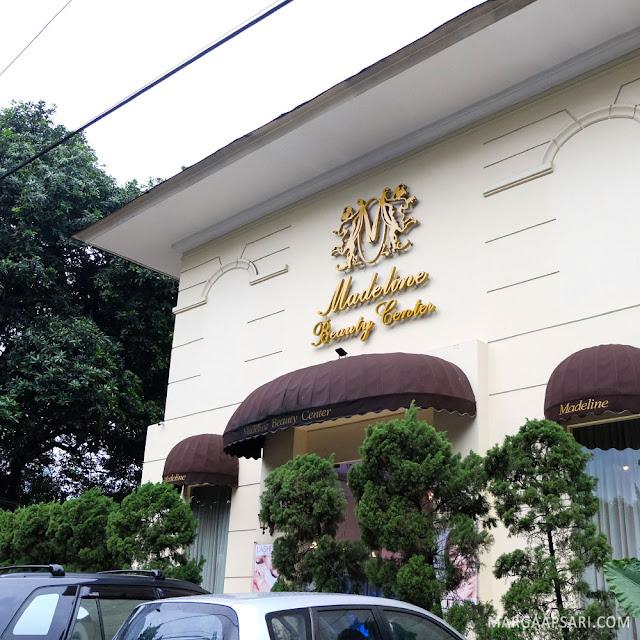 Tampak depan gedung Madeline Beauty Center Jakarta