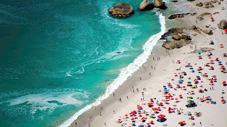 15 bãi biển đẹp mê mẩn nhìn từ trên cao - Ảnh 3