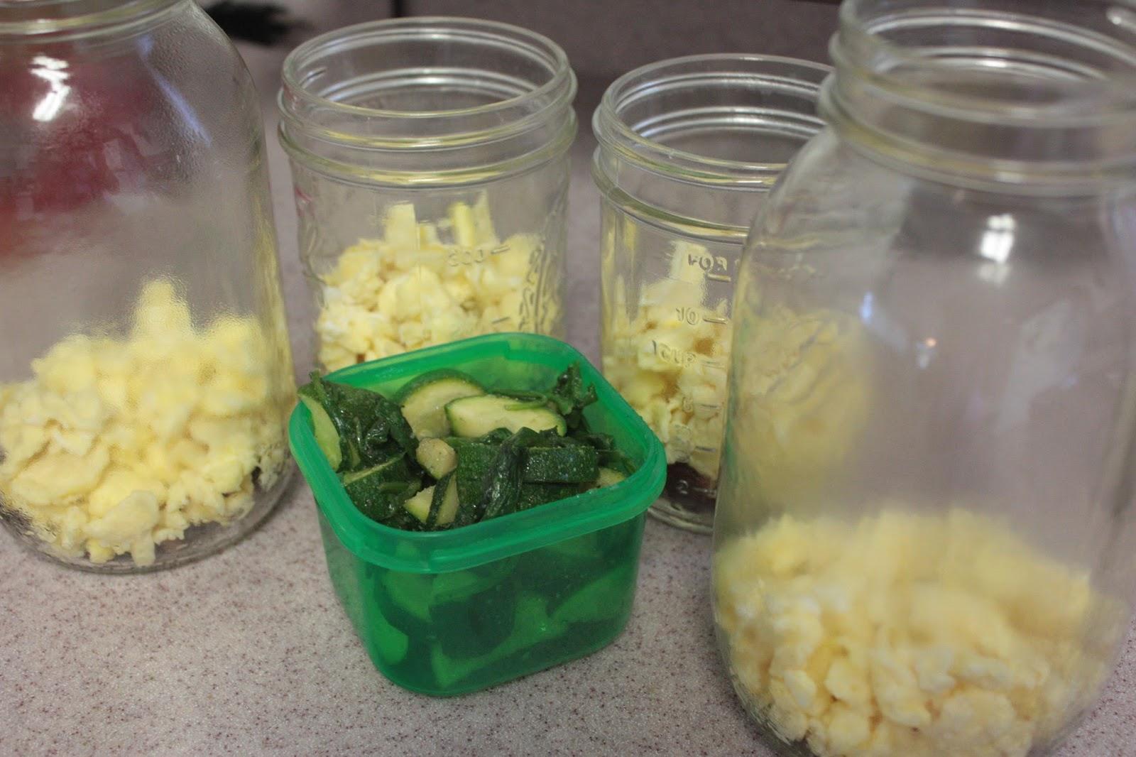 21 day fix approved breakfast jars scrambled eggs laura sosa. Black Bedroom Furniture Sets. Home Design Ideas