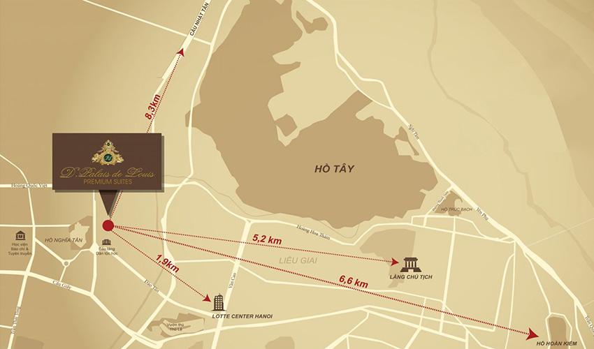 Vị trí chung cư Tân Hoàng Minh Nguyễn Văn Huyên