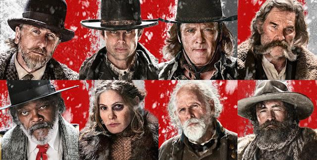 os oito odiados - Quentin Tarantino - os 8 odiados - oito odiados - 8 odiados - filme - cinema - samuel l. jackson - faroeste - suspense - drama - resenha - resenha de filme - assistir - faroeste diferente - sanguinário - lançamento - breve nos cinemas - cinemas - em cartaz - filme bom - recomendação de filme