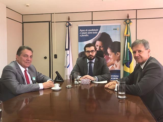 Prefeito Tema e dep Aluísio Mendes, dá mais um grande passo para o município de Tuntum-MA