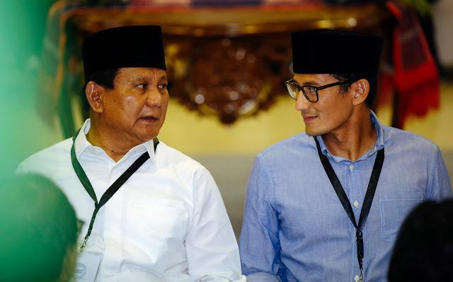 Ini Penjelasan KPU Soal Ditolaknya Draf Perubahan Visi Misi Prabowo-Sandi