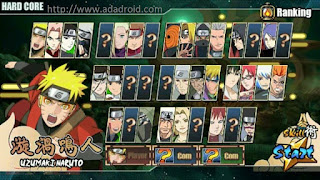 Naruto Senki v1.20 First 3 by Doni Apk